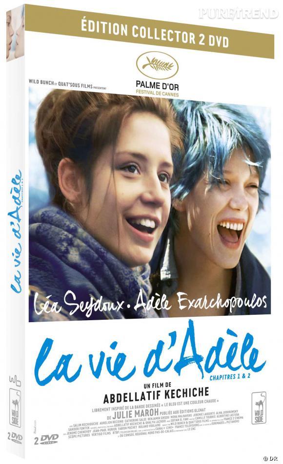 """DVD de février : """"La vie d'Adèle"""" pour le prix de 19.99 €."""