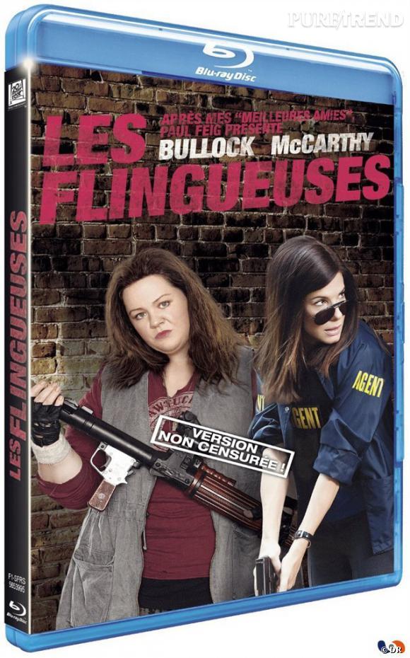 """DVD de février : """"Les Flingueuses"""" en blu-ray pour le prix de 24.99 €."""