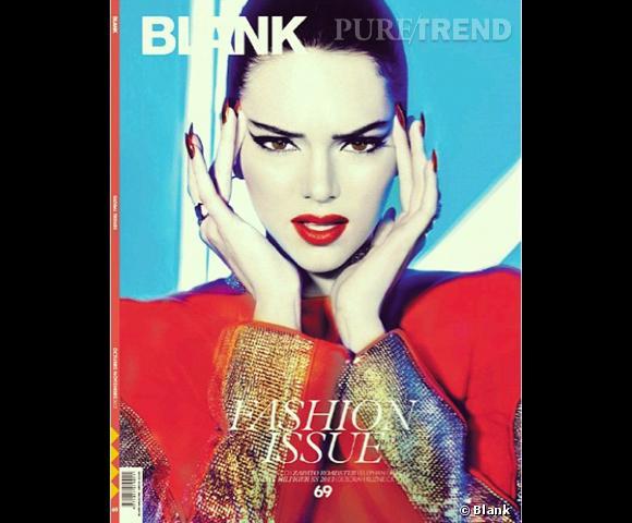 Kendall Jenner en couverture de Blank.