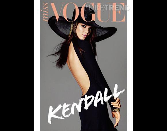 Kendall Jenner a même posé pour Miss Vogue ! La couverture de Vogue n'est pas loin...