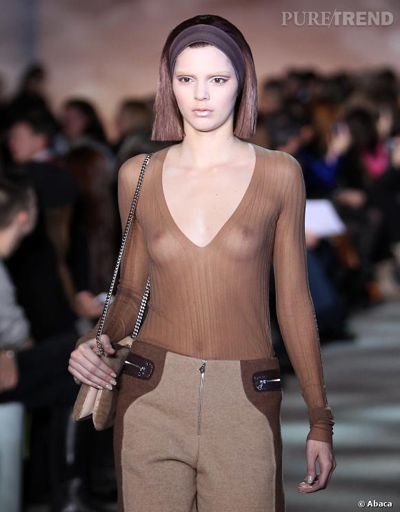 Kendall Jenner a fait ses premiers pas de mannequin durant la Fashion Week. Classe !