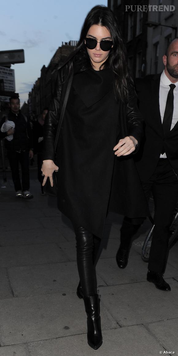 Kendall Jenner s'est métamorphosée en top model fashionista.
