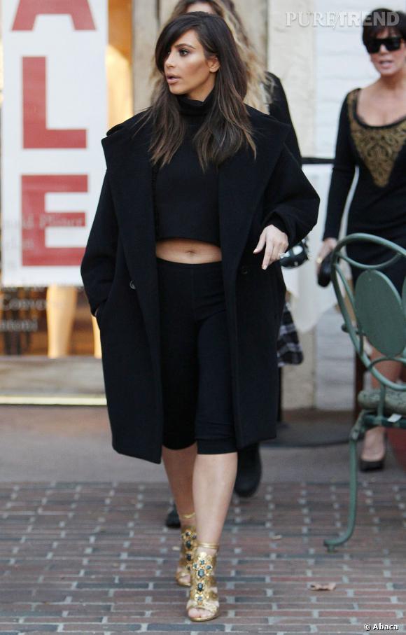 Kim Kardashian a certes amélioré sa garde-robe, mais elle est encore loin de Kendall Jenner et de son dressing de plus en plus tendance.