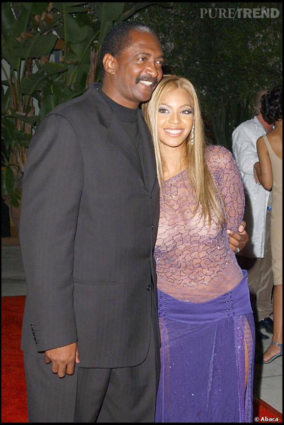 Matthew Knowles et sa fille superstar, Beyoncé.