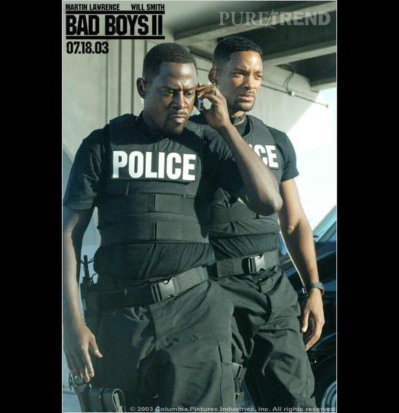 "Will Smith et Martin Lawrence dans ""Bad Boys II""."