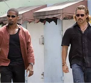 "Jamie Foxx et Colin Farrell dans l'adaptation sur grand écran de ""Deux flics à Miami""."