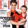 Alessandra Sublet pose en Une de ELLE avec sa fille Charlie.