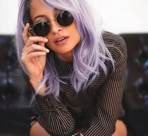 Nicole Richie : ses cheveux violets font oublier son anorexie
