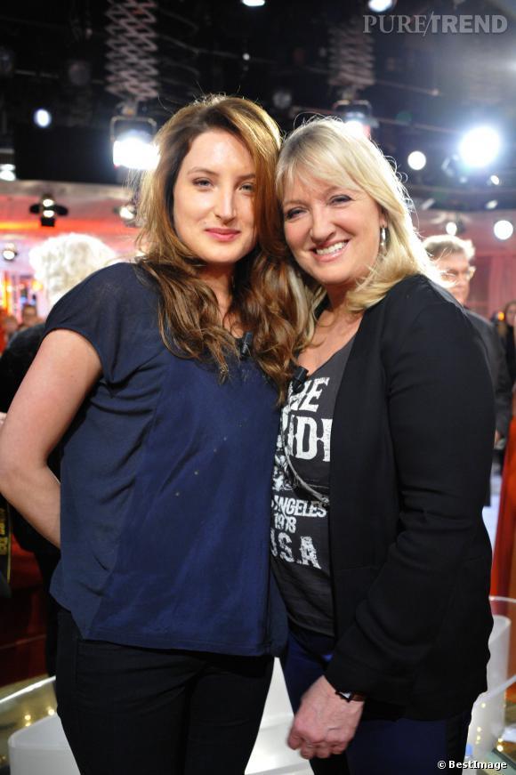 Charlotte de Turckheim et sa fille comédienne, Julia Piaton.