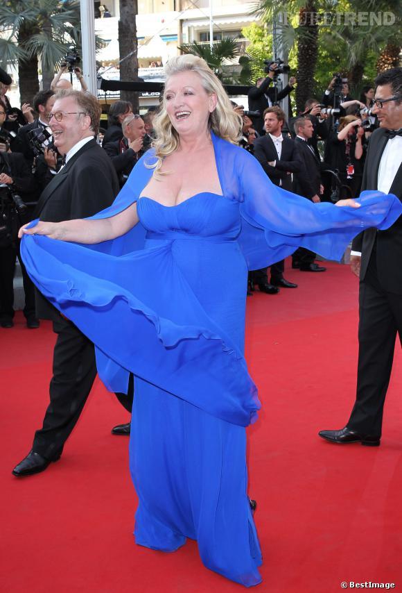 Charlotte de Turckheim au Festival de Cannes en 2012.
