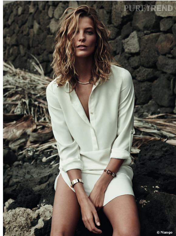 854fa888788ad Robe chemise blanche mango – Robes à la mode de 2018-2019