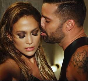 "Jennifer Lopez, Ricky Martin dans le clip ""Adrenalina"" du rappeur Wisin."