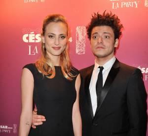Kev Adams et Nora Arnezeder aux Césars 2014.