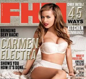Carmen Electra, 41 ans : la cover girl la plus âgée de FHM
