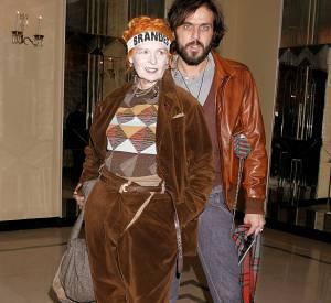 Vivienne Westwood et son compagnon Andreas Kronthaler.