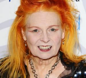 Vivienne Westwood a dit bye bye à ses cheveux roux.