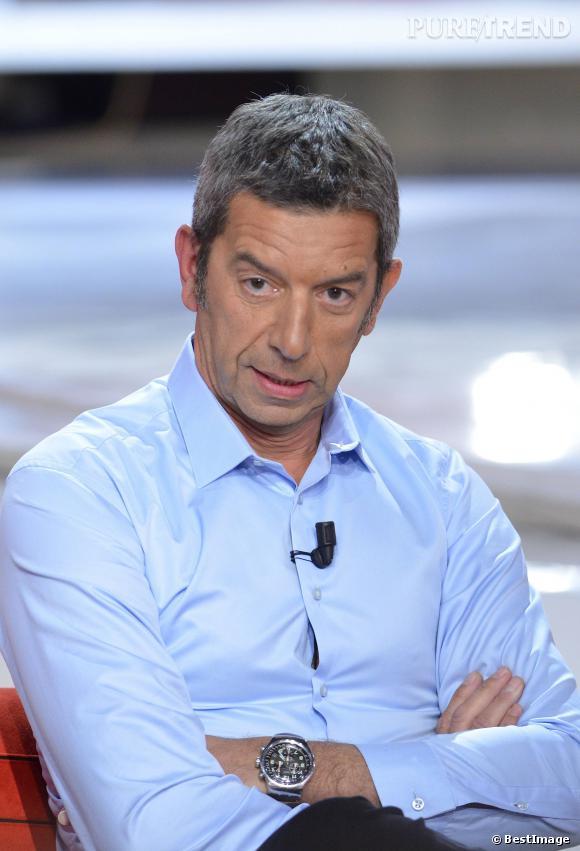 Michel Cymes sur le plateau de Vivement dimanche en 2012, à la suite de sa participation au film La vérité si je mens 3.