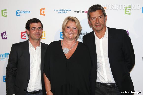 Michel Cymes, Marine Carrère d'Encausse et Benoit Thevenet, la fine équipe du Magazine de la santé sur France 5.