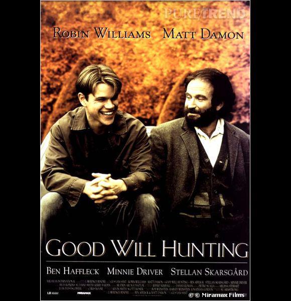 """""""Will Hunting"""", le premier film co-écrit par Matt Damon et Ben Affleck."""