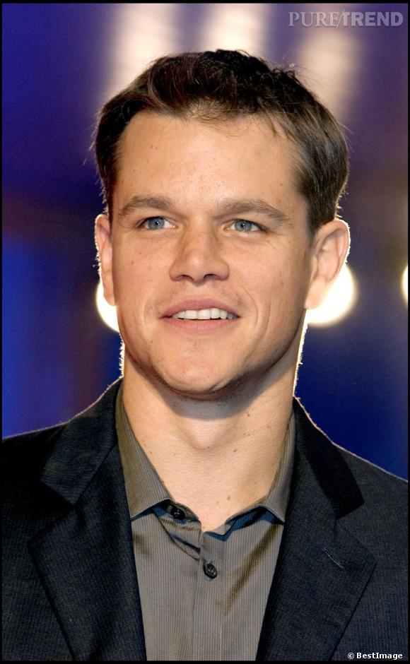 """Matt Damon lors de la projection de """"Les Frères Grimm"""" à la 62ème Mostra de Venise en septembre 2005."""