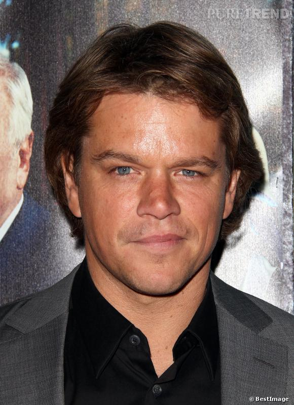 "Matt Damon à la première du film ""His Way"" en mars 2011."
