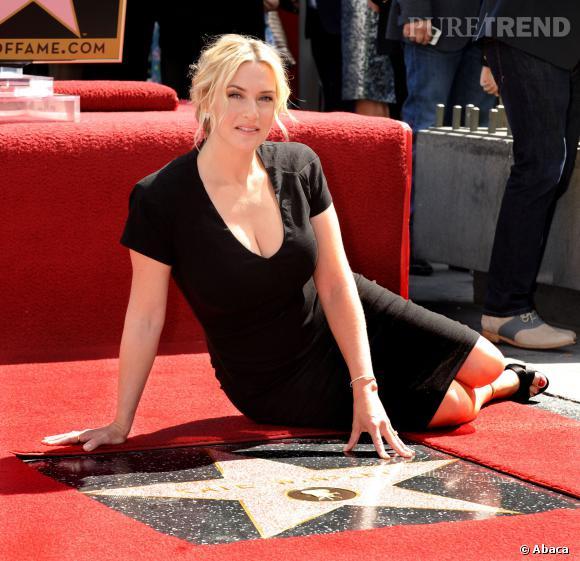 Kate Winslet, la plus hollywoodienne des actrices anglaises,le 17 mars 2014 à Los Angeles.
