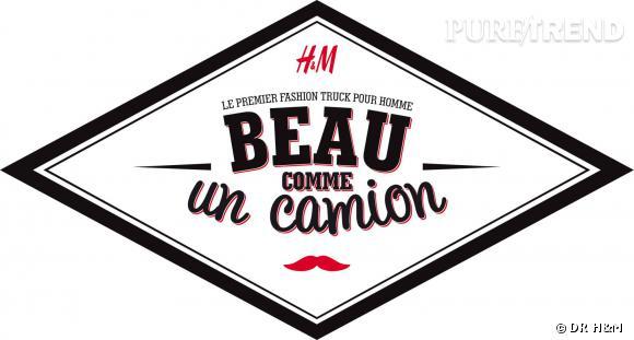 Le fashion truck H&M, beau comme un camion : dans les rues de Paris du 19 au 23 mars 2014.