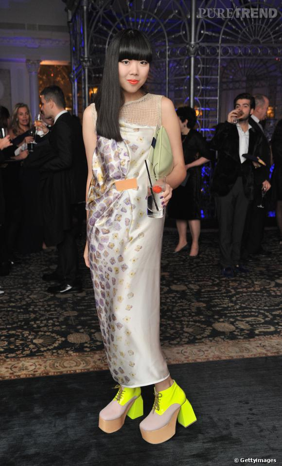 Susie Bubble a le sens du détail aux British Fashion Awards 2011.