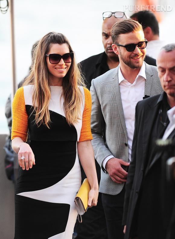 Justin Timberlake et Jessica Biel s'offrent des vacances sous le soleil de la Barbade en mars 2014.