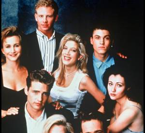 Les acteurs de la série Beverly Hills, série culte des années 90.