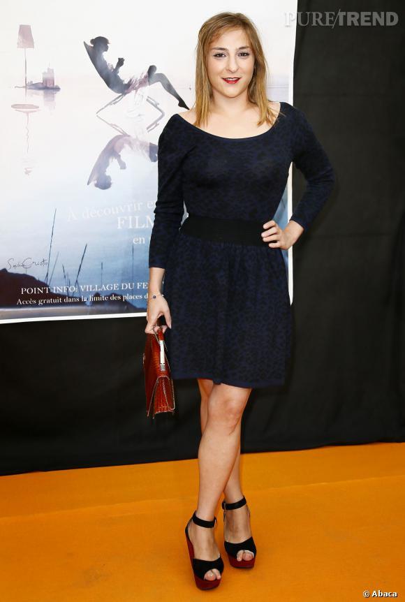 Marilou Berry au Festival de la fiction de La Rochelle, le 13 septembre 2012.
