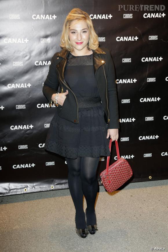 Marilou Berry à la soirée Canal+ du Festival de Cannes, le 17 mai 2013.