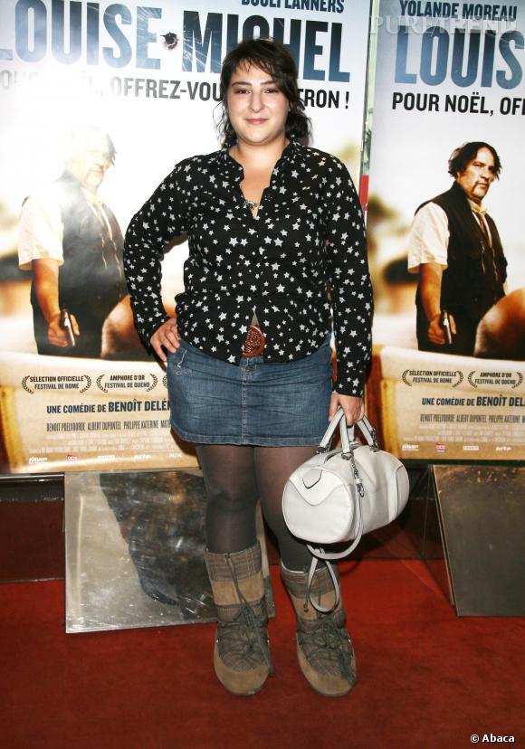 """Marilou Berry à l'avant-première de """"Louise Michel"""" le 18 décembre 2008."""