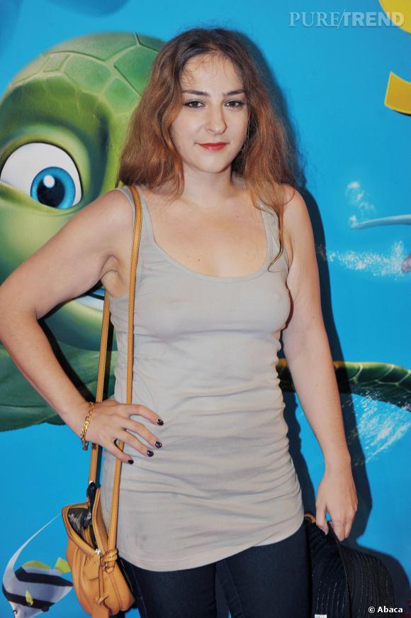 """Marilou Berry, très amaigri pour l'avant-première du film """"Le Voyage extraordinaire de Samy"""" le 3 juillet 2010."""