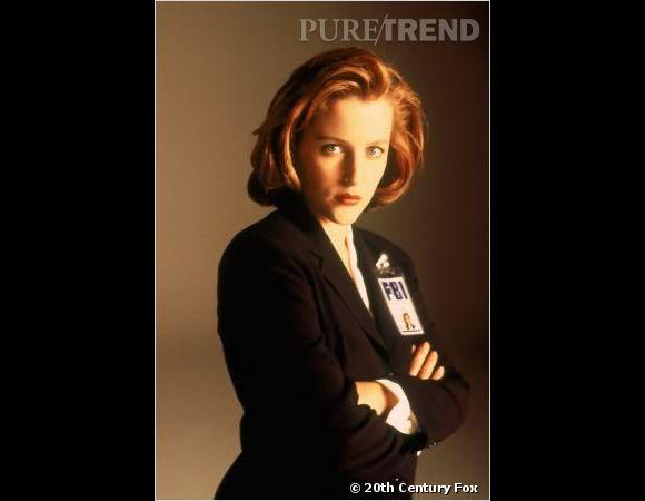 "Gillian Anderson version Dana Scully dans ""X-Files"", son rôle le plus culte."