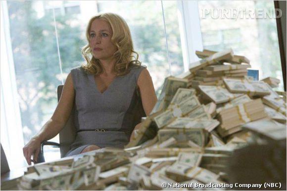 """Gillian Anderson dans """"Crisis"""" joue la mère d'une adolescente enlevée."""