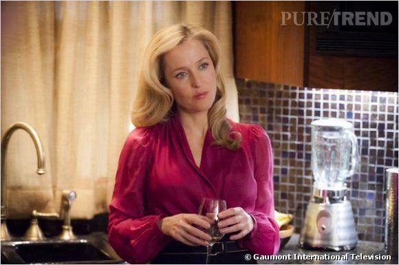 """Gillian Anderson, un psy pas comme les autres dans """"Hannibal""""."""