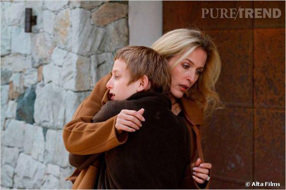 """Gillian Anderson a joué dans """"L'enfant d'en haut"""" récemment au cinéma."""