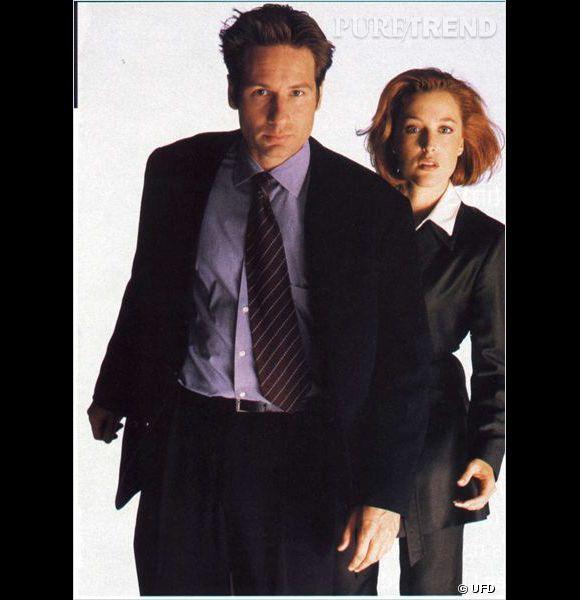 """Gillian Anderson et David Duchovni c'est la série """"X-files"""" certes... mais aussi le film !"""