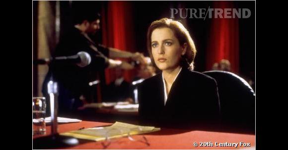 """Gillian Anderson : son rôle le plus célèbre restera celui de Scully dans """"X-Files""""."""