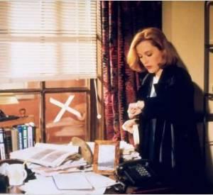 """Gillian Anderson dans """"X-Files"""", une série culte !"""