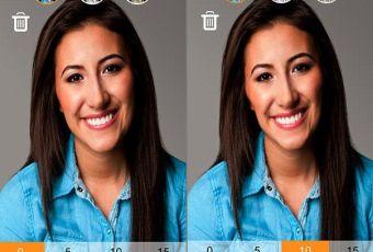 Selfie : SkineePix, une application pour paraître plus mince de 5 kilos