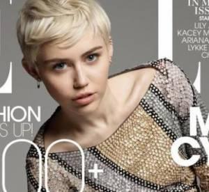 Miley Cyrus, bien sage en Une du ELLE américain
