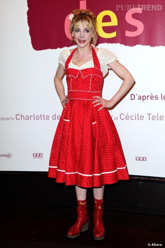 """Julie Depardieu joue Joséphine dans """"Les yeux Jaunes des Crocodiles""""."""