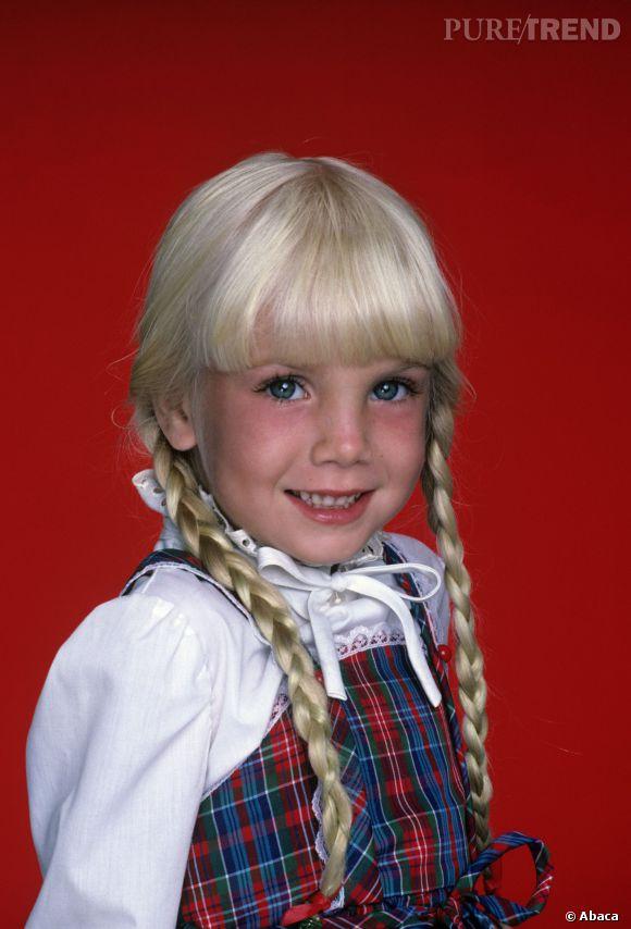 """Heather O'rourke, la star de """"Poltergeist"""" est morte à l'âge de 12 ans à cause de la maladie de Crohn."""