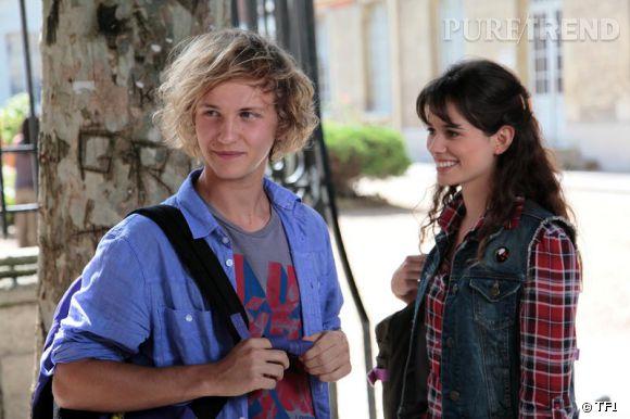 """Mathieu Spinosi, alias Julien Brimont dans """"Clem"""" avec Lucie Lucas, aka Clém."""