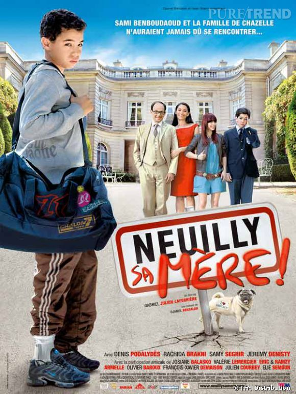 """Neuilly sa mère"", un film avec Joséphine Japy, Samy Seghir, Jérémy Denisty et Mathieu Spinosi."