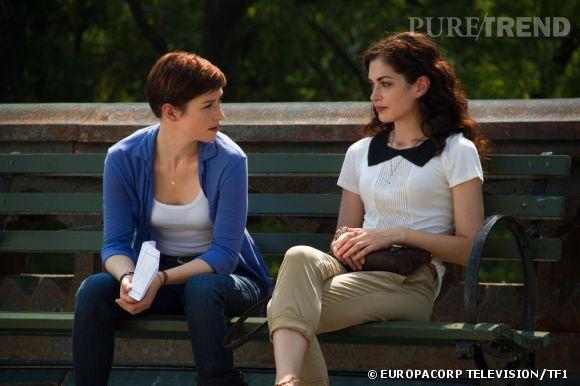 """Chyler Leigh (à gauche) dans la nouvelle série de TF1 """"Taxi Brooklyn""""."""