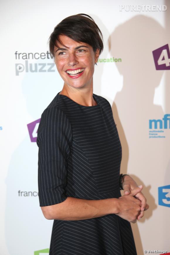 Alessandra Sublet n'hésite jamais a parler grossesse et maternité pour faire déculpabiliser les femmes.