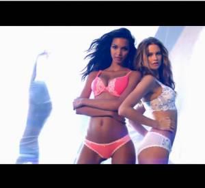 "Behati Prinsloo, Lily Aldridge, Lais Ribeiro, Adriana Lima et Alessandra Ambrosio dans la nouvelle pub ""Body"" de Victoria's Secret."